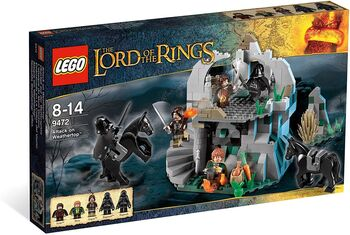 Lord of the Rings Attack on Weathertop, Lego, Creations4you, Lord of the Rings, Worcester