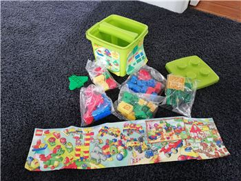 Bulk bucket, Lego 1086, Charlotte Lee-Smith, DUPLO, Lower Hutt