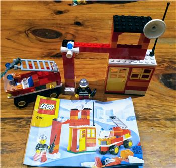 Fire Fighter building set, Lego 6191, John kerr, other, GROVEDALE