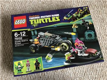 Stealth Shell in Pursuit, Lego 79102, Steven Bond, Teenage Mutant Ninja Turtles, St. Helens