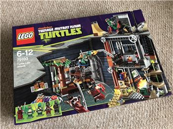 Turtle Lair Attack, Lego 79103, Steven Bond, Teenage Mutant Ninja Turtles, St. Helens