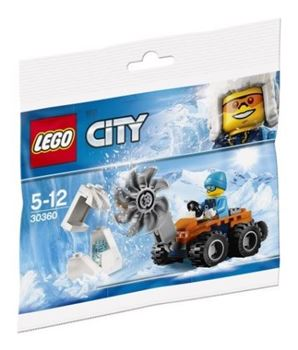LEGO 30360 CITY Arctic Ice Saw POLYBAG, Lego 30360, John, City, Bellevue