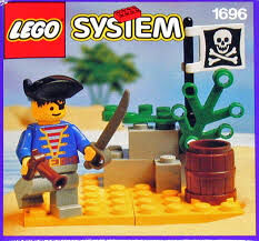 Pirate Lookout, Lego 1696, Creations4you, Pirates, Worcester