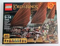 Pirate Ship Ambush, Lego 79008, Creations4you, Lord of the Rings, Worcester