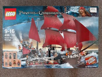 Queen Anne's Revenge, Lego 4195, Tracey Nel, Pirates of the Caribbean, Edenvale