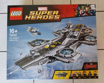 The SHIELD Helicarrier, Lego 76042, Tracey Nel, Super Heroes, Edenvale
