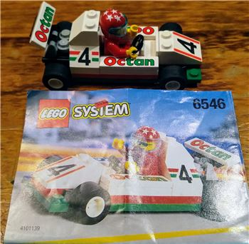Small Octane race car, Lego 6546, John kerr, Town, GROVEDALE