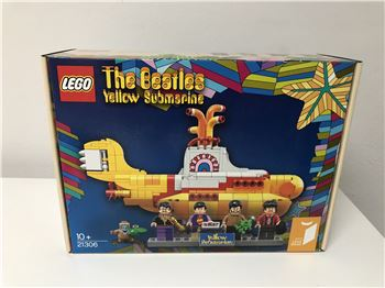 The Beatles Yellow Submarine, Lego 21306, Nick, Ideas/CUUSOO, Portland