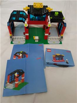 Lego 6478 fire station, helicopter & 2 fireman!, Lego 6478, Vikki Neighbour, Town, Northwood