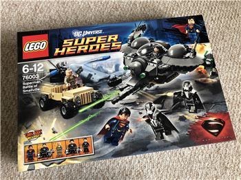Superman: Battle of Smallville, Lego 76003, Steven Bond, Super Heroes, St. Helens