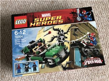 Spider-Man: Spider-Cycle Chase, 76004, Steven Bond, Marvel Super Heroes, St. Helens