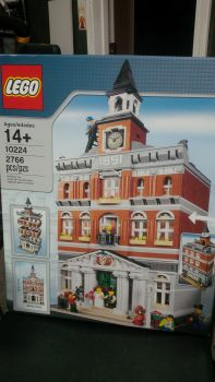 town hall modular set, Lego 10224, shawn ramsay, Modular Buildings, Lloydminster