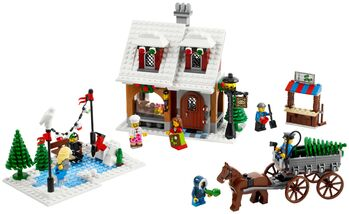 Winter Village Bakery, Lego 10216, Creations4you, Town, Worcester