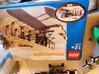 Wright Flyer, Lego 10124, Hannah, Sculptures, south ockendon