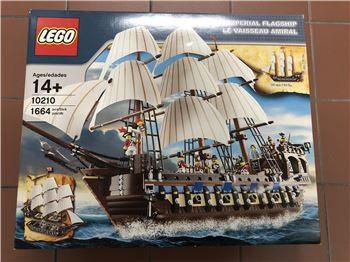 Lego Imperial Flagship - Lego 10210, Lego 10210, Gareth, Pirates, London