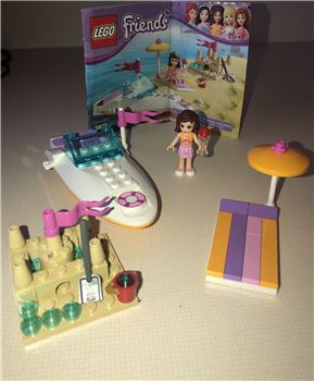 Lego 3937 Olivia's Speedboat Lego Friends, 3937, Brooke, Friends, Eagan