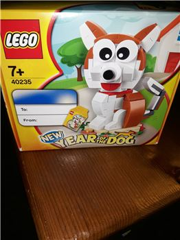 Year of the Dog., Lego 40235, Gazza B., other, Plymouth.
