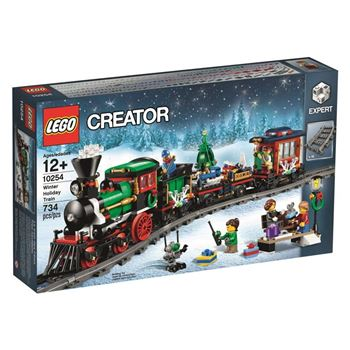 Winter Holiday Train, Lego 10254, Ernst, Creator