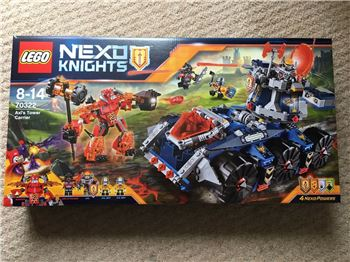 Lego 70322 Axl's Tower Carrier, Lego 70322, Brickworldqc, NEXO KNIGHTS