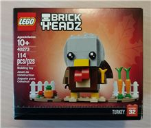 Thanksgiving Turkey Brickheadz, Lego 40273, Tracey Nel, BrickHeadz, Edenvale