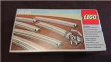 Curved Electric Rails, Lego 7855, PeterM, Train, Johannesburg