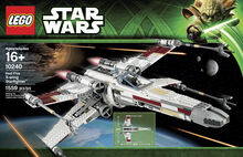 2013 Retired Red Five X-wing Starfighter - UCS (2nd edition), Lego 10240, Christos Varosis, Star Wars