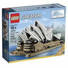 2013 Retired Sydney Opera House, Lego 10234, Christos Varosis, Sculptures