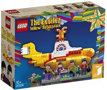 21306 Yellow Submarine Lego 21306