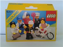 Mini-Figures, Lego 6301, Don Wilder, LEGOLAND