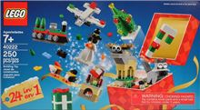 24-in-1 Christmas Build Holiday Countdown Lego 40222