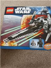 Imperial V-wing Starfighter, Lego 7915, Vanessa Peacher, Star Wars, Kettering