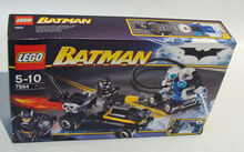 Batman's Buggy: The Escape of Mr. Freeze, Lego 7884, Christos Varosis, Super Heroes