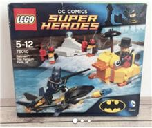 The Penguin Face off, Lego 76010, James, BATMAN