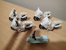 5x Lego Motorbikes (in good condition) $20 for the lot!!, Lego, Jordan Phillis, City, Petrie