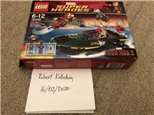 76006 Iron Man Extremis Sea Port Battle (Incomplete), Lego 76006, Robert Kolodziej, Super Heroes, Swindon