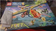 Aarons x-bow, Lego 72005, Daniel be, NEXO KNIGHTS, St Helens