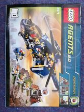 Aerial Defence Unit, Lego 8971, Jeremy, Agents, Reading