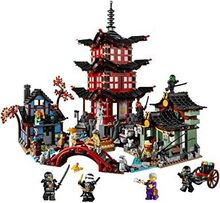 Temple of Airjitsu, Lego 70751, Creations4you, NINJAGO, Worcester