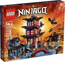 2015 Retired Temple of Airjitzu, Lego 70751, Christos Varosis, NINJAGO