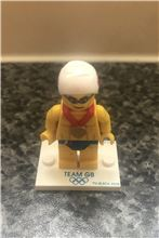 Team GB Olympic Stealth Swimmer minifigure, Lego 8909-2, Dan Bricks, Minifigures, North Wales