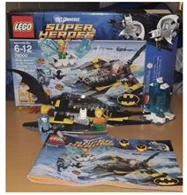 Arctic Batman vs Mr Freeze: Aquaman on Ice, Lego 76000, James, BATMAN