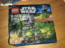 AT-ST mini polybag, Lego 30054, aleksandr hardy, Star Wars, buxton