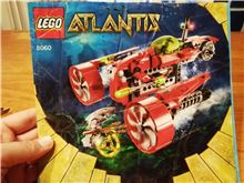 Atlantis Typhoon Turbo Sub, Lego 8060, Laura, Atlantis, Cape Town