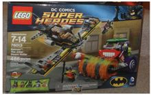 Batman: The Joker Steam Roller, Lego 76013, James, BATMAN