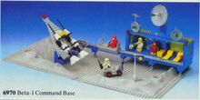 Beta-1 Command Base Classic Space Lego 6970