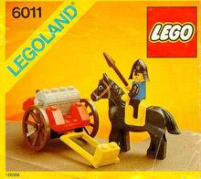 Black Knight's Treasure Lego 6011