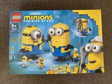 Brand new LEGO Brick-built Minions and their Lair, Lego 75551, Jenny, other, South Yarra