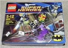 Catwoman Catcycle City Chase, Lego 6858, James, BATMAN