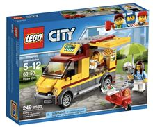 CITY Pizza Van, Lego 60150, Ernst, City