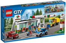 CITY Service Station, Lego 60132, Ernst, City